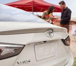 Rear Spoiler Toyota Yaris (Scion iA) Sedan 2016-2020