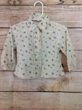 Noppies baby Infant girl Button Up Top Shirt Size 74 6-9 Months