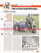 GUZZI 1100 EV Jackal Side Car Watsonian 99-2001 Joe Bar Team Fiche Moto #005247
