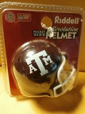 NCAA  Texas A&M Aggies Riddell Revolution Pocket Pro Mini Football Helmet