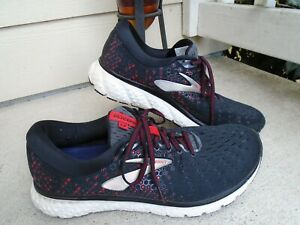 Brooks Glycerin 17 Running Shoes Navy/Red/White Men's Size 11.5