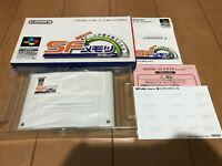 SF Memory Cartridge Japan Super Famicom SNES BOX and Manual