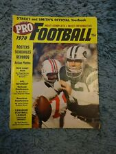 Street & Smith Pro Football Annual Yearbook Lot--1970 & 1976