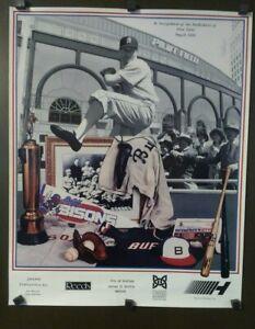 Buffalo Bisons Baseball Dedication Of Pilot Field May 21, 1988 Poster