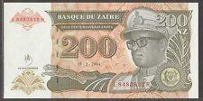 Zaire 200 Zaires 1994 unc