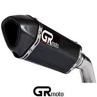 Scarico Per Honda CB 600 F Hornet 2003 - 2006 Hi Level GRmoto Marmitta Carbonio