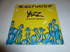 """YAZZ - The Only Way Is Up - 1988 UK 7"""" Silver Label vinyl single (with sleeve)"""