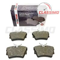 Rear Brake Pads for NISSAN PRIMASTAR X83 + RENAULT TRAFIC Mk 2 + VAUXHALL VIVARO