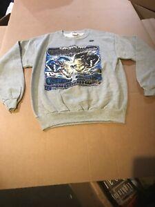 Men's New Stadium Collection NFL Super Bowl XXXV Sweat Shirt Giants-Ravens L