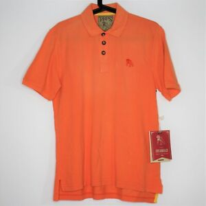 Prps Mens Small Embroidered Logo Collared Polo Shirt New R1355