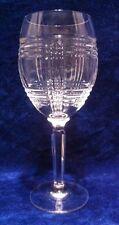 "Ralph Lauren GLEN PLAID Crystal 8 1/4"" Water Goblet"