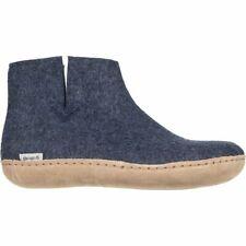 Glerups The Boot Leather Slipper Denim 44.0