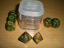 TEAM DICES WOOD ELVES FOR BLOODBOWL/BLOOD BOWL/FANTASY FOOTBALL