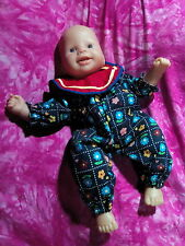 LACHT:Zapf Creation little Chou Chou Doll❤RE Jolly Baby New Born Funktions Puppe