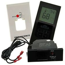 Napoleon F60 Fireplace Remote Control, Thermostat Control with Digital Screen