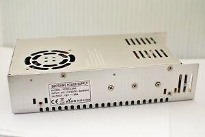 Regulated Transformer Power Supply For LED Strip DC 12V 10A 360W USA Seller