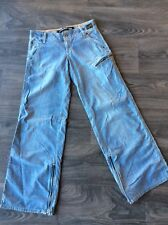 G Star Raw Women's Custom Army Pant Light Blue Size 28
