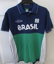 2014 Fifa World Cup Brasil Official licensed Short Sleeve Shirt Youth Medium EUC