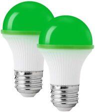 2 PACK Colored Light Bulbs Colored LED Light Bulbs Night Light Bulbs GREEN
