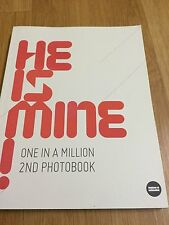 shinee jonghyun one in a million 2nd photobook , he is mine photo book