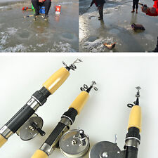 Mini Telescopic Portable Pocket Pen Fishing Tackle Rod Pole with Fishing Reel