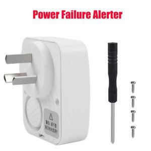Power Failure Reminder Alert  Rechargeble Emergency Abnomal Voltage Alarm AU