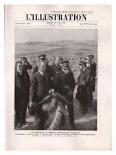 L'ILLUSTRATION 4390 1927 ZUYDERZEE HOLLANDE INSTITUT PASTEUR