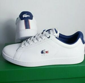 LACOSTE Men's Trainers Canarby Evo Sneakers Size 6/6.5/7/7.5/8/8.5/9/9.5/10/10.5