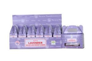 Satya Lavender Backflow Dhoop Cones