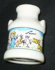 New listing Souvenir Hee Haw Milk Can Shaped Toothpick Holder