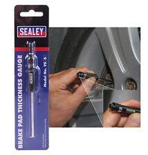 Sealey vs058 Pastillas De Freno Medidor De Espesor ahorro de tiempo Garage pre ITV herramienta de medición