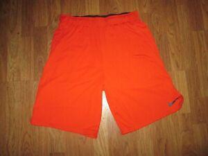 Mens NIKE DRI FIT running athletic shorts L Lg basketball