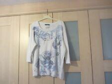 Women's plus size cotton top. Bon Marche, size XL (22/24). 3/4 sleeve.