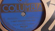 Al Jolson  - George O'Connor - 78rpm single 10-inch – Columbia #A-2124 I Ain't..