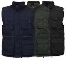 MULTI POCKET BODY WARMER GILET FISHING JACKET  WARM WINTER M-XXL  3 COLOURS CRD2