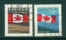 [JSC]1992 Canada Flag over Field 43c & 40c