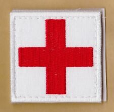 Medic Red Cross Paramedic Army Tactical Morale Military Patch Swat War #161