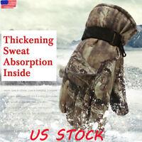 Winter Warm Windproof Waterproof Anti-slip Thermal Touch Screen Gloves Unisex US