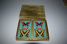 Vintage Caspari Deyrolle Butterflies bridge playing cards