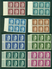 LATVIA GERMANY OCCUPATION OLD BLOCK OF 16 (94) STAMPS MNH 456