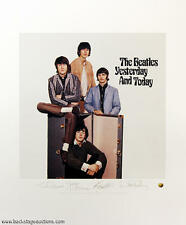 The Beatles yesterday & Today Plate Signed Litho Lithograph Poster