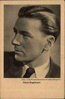 Schauspieler Kino Film Theater V.: ROSS ~1930 Porträt-Foto von Heinz ENGELMANN