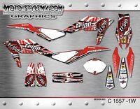 Husqvarna TE 449 511 2011 up to 2013 graphics decals kit Moto StyleMX