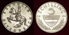 AUSTRIA Österreich Autriche 5 schilling 1969