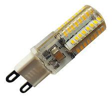 4 x G9 3W 64 SMD LED 240V 240LM WARM WHITE (3000K) BULBS ~20W