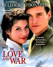 NEW DVD // In Love and War // Chris O'Donnell, Sandra Bullock/ HEMMINGWAY