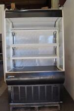 "MasterBilt 48"" Refrigerated Grab and Go Vertical Open Display Merchandiser"