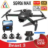SG906 MAX PRO 2 Beast 3 GPS Obstacle Avoidance Drone 5G WiFi FPV RC Quadcopter