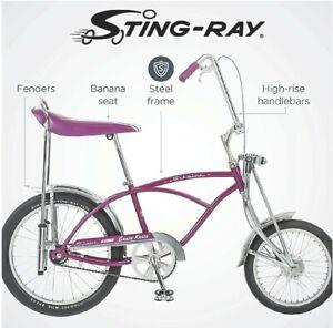 Schwinn Stingray Muscle Bike..NEW PURPLE KRATE