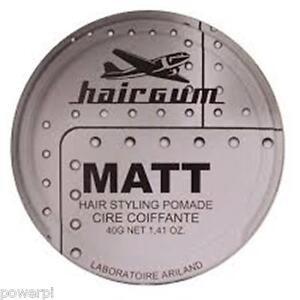 "gel,pate,cire cheveux hairgum 40ml ""l'oréal,schwarzkopf,wella,tigi"" mat"
